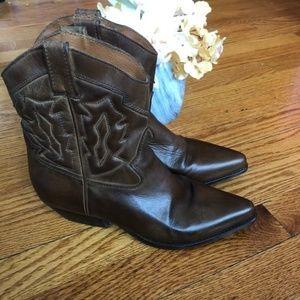 Nine West Shoes - Nine West Ankle Western Booties